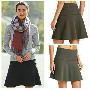 Athleta Ponte Twill Skirt